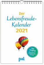 DER LEBENSFREUDE KALENDER 2021 Rolf Merkle pal Verlag 39 Blätter mit Spiralbind.