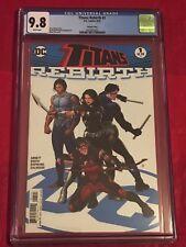 TITANS REBIRTH 1 CGC 9.8 Choi Cover Teen Titans Robin Nightwing