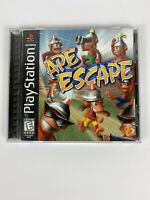 Ape Escape 1999 Black Label Sony Playstation (PS1) One Disc & Manual Video Game