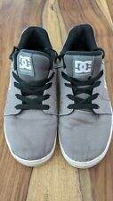 Mens DC Shoes Grey Method TX Trainers size 9 UK