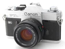 Exc+++++ Canon FTb QL 35mm SLR Film Camera with FD 50mm F/1.8 Lens from Japan