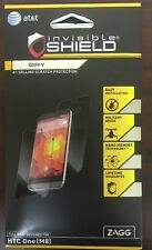 NEW ZAGG invisibleSHIELD Screen Protector Full Body Protection for HTC One M8!!!