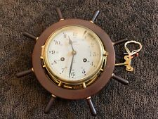 Vintage Schatz Royal Marine Ship Clock