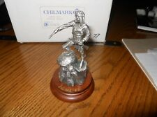 """Chilmark Pewter """"Apache Scout"""" by Don Polland      New in the Box and Signed."""