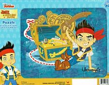 16pc JAKE AND THE NEVERLAND PIRATES Beginners Preschool Flat Puzzle Ages 3+
