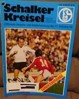 FC Schalke 04 + Schalker Kreisel 01.08.1978 SONDERAUSGABE Manchester United /508
