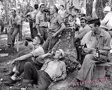 Photograph WWII Navy Sailors on Liberty at Mogmog Island Year 1947