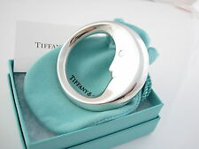 Tiffany & Co RARE MINT NEW Sterling Silver Man In The Moon Adorable Baby Rattle!