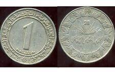 ALGERIE  ALGERIA 1 dinar 1983