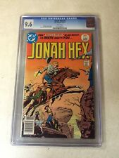 Jonah Hex #2 CGC 9.6 NM+ WHITE PAGES 1977 DC weird western 1ST EL PAPAGAYO