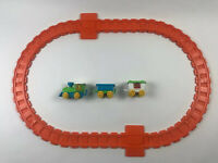 Vintage 1981 Child Guidance Sesame Street Railroad Train Set