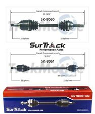 For Pontiac G3 Wave Chevy Aveo FWD 2 Front CV Axle Shafts SurTrack Set