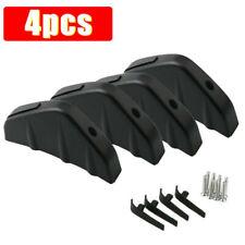4PCS Universal Car Rear Bumper Lip Diffuser Shark Fins Splitter Accessories