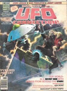 MARVEL PREVIEW # 13 - UFO Connection! Magazine  (Winter 1978) STAN LEE Mag!