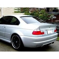 Painted Titan Silver Metallic # 354 BMW E46 Couple Boot Lip Spoiler M3 Style UK