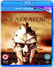 GLADIATOR (2000) - 15TH ANNIVERSARY - BLU-RAY - REGION B UK