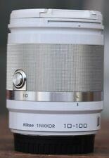 Nikon 1 NIKKOR VR 10-100 mm F/4.0-5.6 VR Objektiv (Farbe Weiss)
