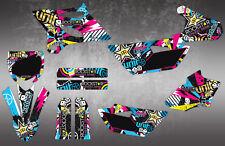 YZ85 MOTOCROSS GRAPHICS MX GRAPHICS YZ 85 DECAL KIT / STICKERS 2015-2018
