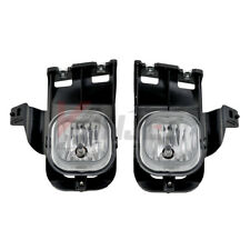For 2006-2007 Ford Ranger Clear Lens Chrome Housing Replacement Fog Light Lamp