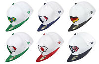 New Era 59 Fifty Country Colors Cap Hat China Italy Mexico Sweden Brazil USA