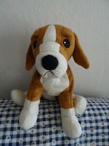 IKEA Hund Gosig Valp Beagle Plüschtier Spielzeug Stofftier 30 cm