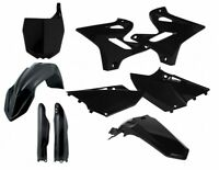 ACERBIS PLASTICS KIT Yamaha YZ 125 250 2015 2016 2017 BLACK