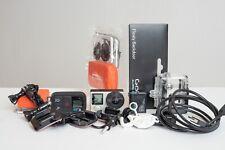 GoPro HERO4 Silver Actioncam + Remote + viel Zubehör