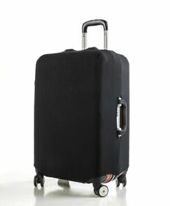 """Anti Scratches Elastic Luggage Protector Suitcase Cover 20"""" 24 28 inch Black"""