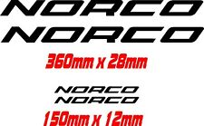 Norco vinyl sticker / decal restore respray pack, 4 pcs many plain colours.avail