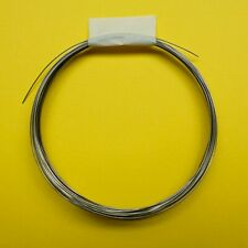 Nichrome resistance wire for polystyrene hot wire cutter, 26 AWG, 5 metres