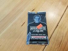 Universal Monsters of the Silver Screen Trading Card pack, 8 cards, Brand New!