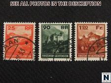 NobleSpirit No Reserve (TH2) Liechtenstein 108-110 Used VF Set = $492 CV