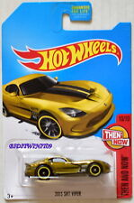 HOT WHEELS 2017 SUPER TREASURE HUNT - THEN AND NOW 2013 SRT VIPER