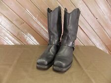 Dingo Boots Square Toe Harness Leather Motorycle Engineer Biker Men's 10.5 D USA