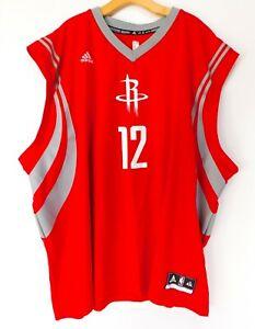 HOUSTON ROCKETS Dwight HOWARD #12 JERSEY Red NBA Basketball ADIDAS MEN'S 4XL