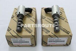 Toyota Sienna Camry RX300 ES300 OEM Camshaft Timing Oil Control Valve Set LH&RH