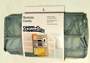 Room Essentials  Bedside Caddy , Storage Tote Gray