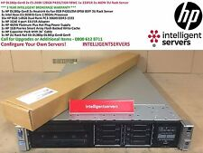 HP DL380p Gen8 2x E5-2690 128GB P420i/1GB FBWC 1x 331FLR 2x 460W 2U Rack Server