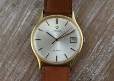 Omega DeVille Automatic 18CT SOLID Gold Men's Watch