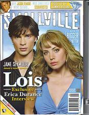 TOM WELLING ERICA DURANCE Smallville Magazine 9/05 #10 JANE SEYMOUR JASON TEAGUE