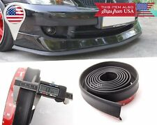 "1.3"" Rubber EZ Fit Bumper Lip Splitter Chin Spoiler Protector for Mercedes Benz"