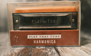 BELL & CURFEW PLAY THAT TUNE HARMONICA WITH HANDY BOX AND INSTRUCTIONS