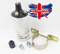 TRIUMPH TIGER CUB, LUCAS 6 VOLT IGNITION COIL, BIKE MOTORCYCLE WITH BRACKET
