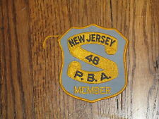 pba, new jersey member patch ,nos ,1960's