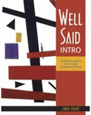 Well Said: Well Said Intro : Pronunciation for Clear Communication by Linda...