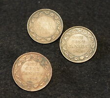 Canadian Large Cents 1916,1919, 1920 in EF Condition Very NICE Old Collectible