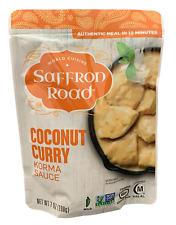 Safron Road - Simmer Sauce - Coconut Curry 7 oz Pack of 4