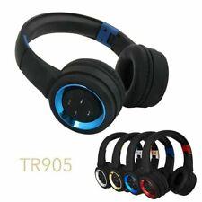 On Ear Wireless Bluetooth Headphones Foldable Headset Stereo Heavy Bass Earphone
