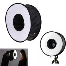 "18""/45cm Photo Ring Speedlight Softbox Round Diffuser For Speedlite Flash Light"
