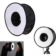 "18""/45cm Photo Ring Speedlight Softbox Round Diffuser For Speedlite Flash Light"
